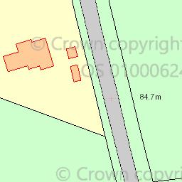 Map tile 84031.62605