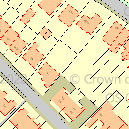 Map tile 84405.63040