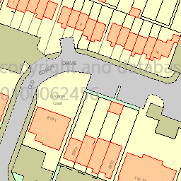 Map tile 84296.63167