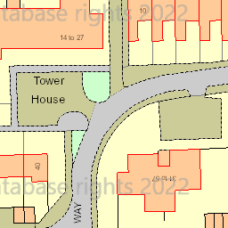 Map tile 84505.63322